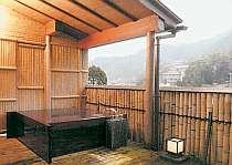 新館客室【白鷺】露天風呂
