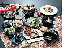 料理例/郷土色ある和会席料理