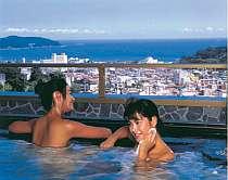 【展望大浴場・福寿の湯】眺望温泉から、海や夜景が一望(サウナ付)