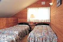【コテージA】寝室