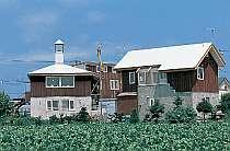 池田町利別駅から徒歩2分 田園風景が眺められる
