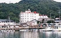 漁港を眺めて旅情あふれる・・・