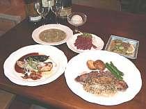 味もボリュームも自慢の夕食(1例)☆会津指定米コシヒカリ使用
