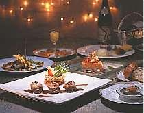 シェフの心のこもったディナーを堪能(料理一例)