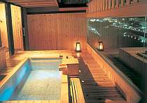 展望貸切温泉露天風呂のご利用が付いたプランです。