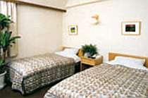 駅近☆18平米のお部屋で過ごす♪ツイン素泊まりプラン
