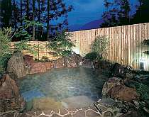 日光の自然美をテーマとした露天風呂