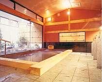 24時間入浴可能な大浴場(女性)