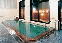 安曇野の名水100%のサウナ付の大浴場