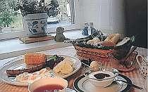 高原野菜の朝食