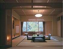 露天風呂付客室一例「緑」