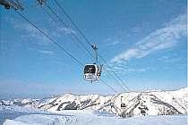 一里野温泉スキー場のゴンドラ・リフト1日券付き