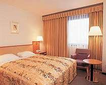 2名でお泊まりはもちろん、1名でも利用可能のお部屋「スタンダードダブル」です。