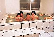 清潔な貸切無料のタイル風呂