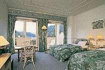 【ツイン】2号館(本館)洋室ツインル-ムは2階に6室ございます。