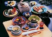 スタンダードプランの料理例