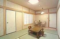 改装済みの和室