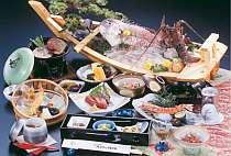舟盛☆伊勢海老・真鯛が味わえる♪海を感じるお料理