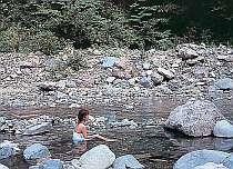 秘境の源泉かけ流し風呂☆一泊二食付プラン