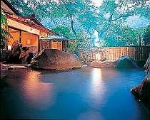 奥湯河原に佇む静かな宿。滝を眺めつつ入浴できる露天が◎