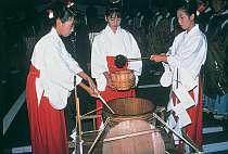 塩原・湯まつりでは、当館の源泉が塩原11湯へ分湯される