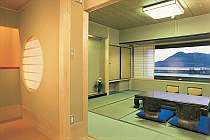 海測のお部屋からは、日本海をすぐそこに望める