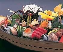 やっぱり伊勢海老でしょ!丸ごと&磯の花造舟盛プラン