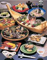 グループの為の特別料理「潮騒膳」
