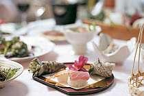 四季折々の和会席料理はゆっくりお部屋で