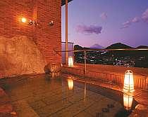富士山を望みながらゆったり