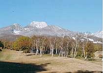 越後富士の異名をもつ妙高山