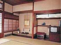 町家風情が心和む和室(例)人数に応じてお部屋の広さいろいろ