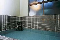 温泉100%掛け流しのお風呂