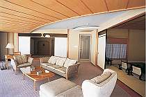 【特別室◇蘭亭】ゆとりひろびろ居間付和室10畳+6畳 。和室2間とリビングの付いたお部屋です。