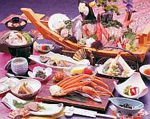 駿河湾から直送!海の幸満載のお料理(一例)