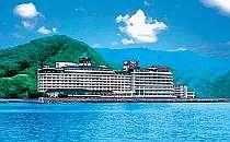 [写真]海が目の前。ホテルを出るとすぐビーチ