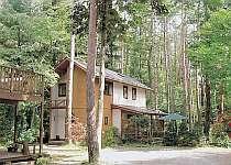 広く豊かな森に囲まれた贅沢な別荘