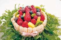 旬の果物がぎっしり!デザートもの画像