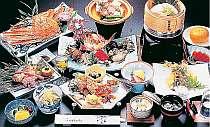 新鮮な魚介中心の食事