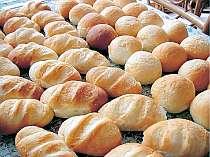 焼きたてフワフワ自家製パン