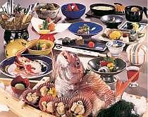 舟盛付のお料理プランイメージ