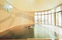大理石の大浴場
