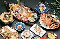 【雅の膳(一例)】上質な食材を使用し、心を尽くして調理しております。