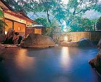 滝を眺めつつ入浴できる露天が◎の奥湯河原温泉の宿