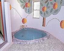 貸切家族風呂は24時間入浴可能