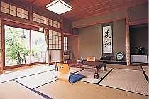 敷地2000坪にわずか5室の客室例。