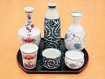 栃木地酒3種が味わえる「利き酒セット」。お食事をしながら栃木の地酒をお楽しみ下さい