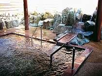 ジャグジー露天風呂が大人気。肌がツルツルになると評判です。発汗作用もあります。