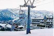 岩原スキー場内なので楽々、便利