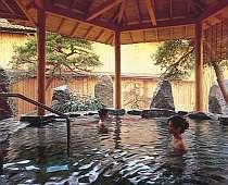 庭園露天風呂「信夫の湯」